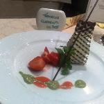 Una delle tante creazioni del nostro chef!