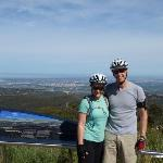 Downhill all the way to Adelaide from the summit of mount lofty