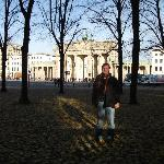 By the Brandenburger Tor