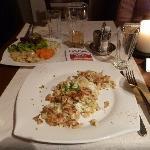 Eiermockerl mit Salat
