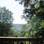 View off the back deck