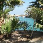 View across internal lagoons