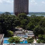 View from Room 742 Grand Hotel Kinshasa