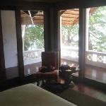 Bedroom Outlook from Pink Suite