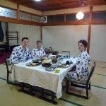Dinner at Sakoya