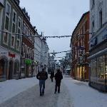 Shopping street in Amberg