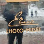 chocolate store - last stop on the tour