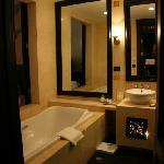 bathtub, shower, toilet