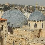 Bell tower view: Church of the Holy Sepulchre