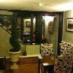 Longs Inn's 'snug' looking through into the Restaurant