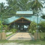 Entrance to Cocomo Restaurant