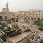 Tower of David: Archaeological courtyard