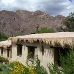 Front view of La Paya