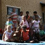 SOS Orphanage - we donated a trampoline for Christmas this year!