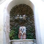 Festenburg, Statue der Hl. Katharina