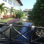 Part of resort