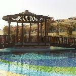 bilde over svømmebassenget