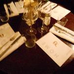 mise en place d'une table