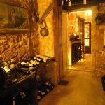 the stone wine cellar