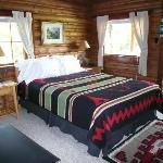 All cabins accented with Pendleton blankets