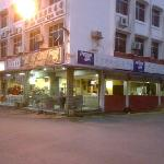 Maggie Cafe by the Limbang's river