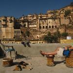 View from the terrace - Tara homestay