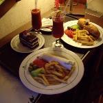 room service :-)