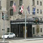 Front of the Jefferson on 16th Street
