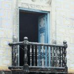 Balcony of the municipal building where Castro made his speech