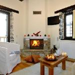 Suites with fireplace and view