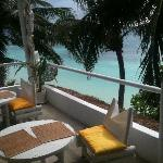 Artista Boracay, view from Bar