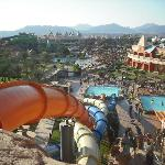 view from water slides