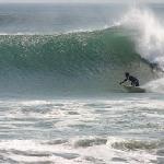 Surfing Playa Venao