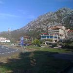 Vista de la situación del Hotel