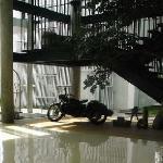 bike at the lobby