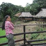 My wife and bungalows