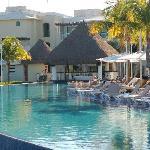 the pool by the Caribeno