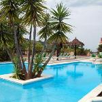 La piscina del villaggio