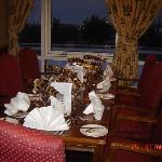 dinning room Christmas