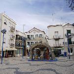 中心地の広場