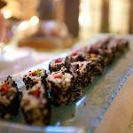 Sushi at Beit Zafran