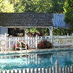 Summer time - outdoor pool and cabana