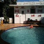 Jaccuzi, très bien, eau très chaude, relaxant