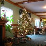 the christmas lobby