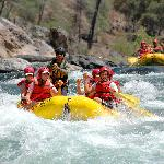 California high water spring rafting
