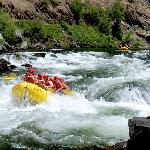 White water rafting near Big Trees State Park