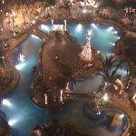 sofite Manila plaza pool by night