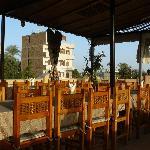 La terrasse de l'Hôtel El Nakhil
