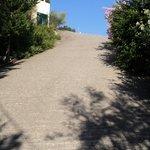 Steep driveway!