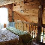 Cozy loft area.